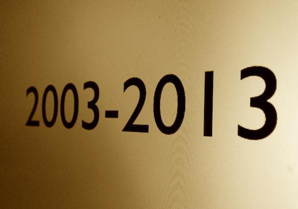 Les nombres en images. - Page 2 2003-2013